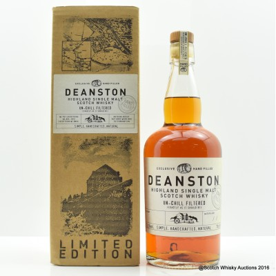 Deanston 10 Year Old Hand-Filled