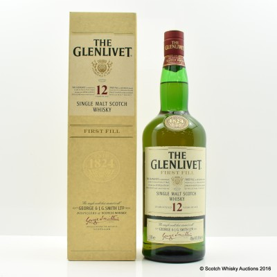 Glenlivet 12 Year Old First Fill Travel Retail Exclusive 1L