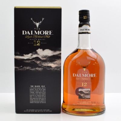 Dalmore 12 Year Old Black Isle 1L