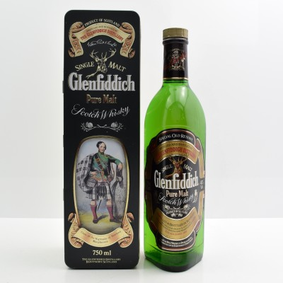Glenfiddich Pure Malt Clans of the Highlands Macpherson 75cl