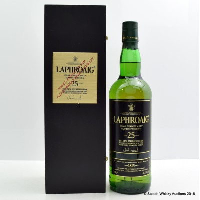 Laphroaig 25 Year Old Cask Strength 2014 Edition