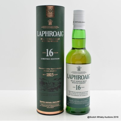 Laphroaig 16 Year Old 200th Anniversary 35cl