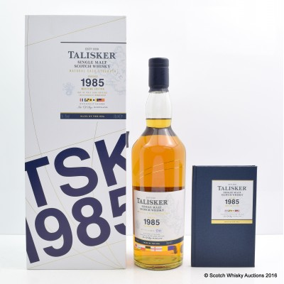 Talisker 1985 Maritime Edition