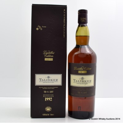 Talisker 1992 Distillers Edition 1L