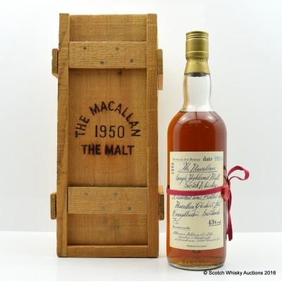 Macallan 1950 G&M 75cl