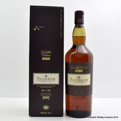 Talisker 1992 Distillers Edition 1L