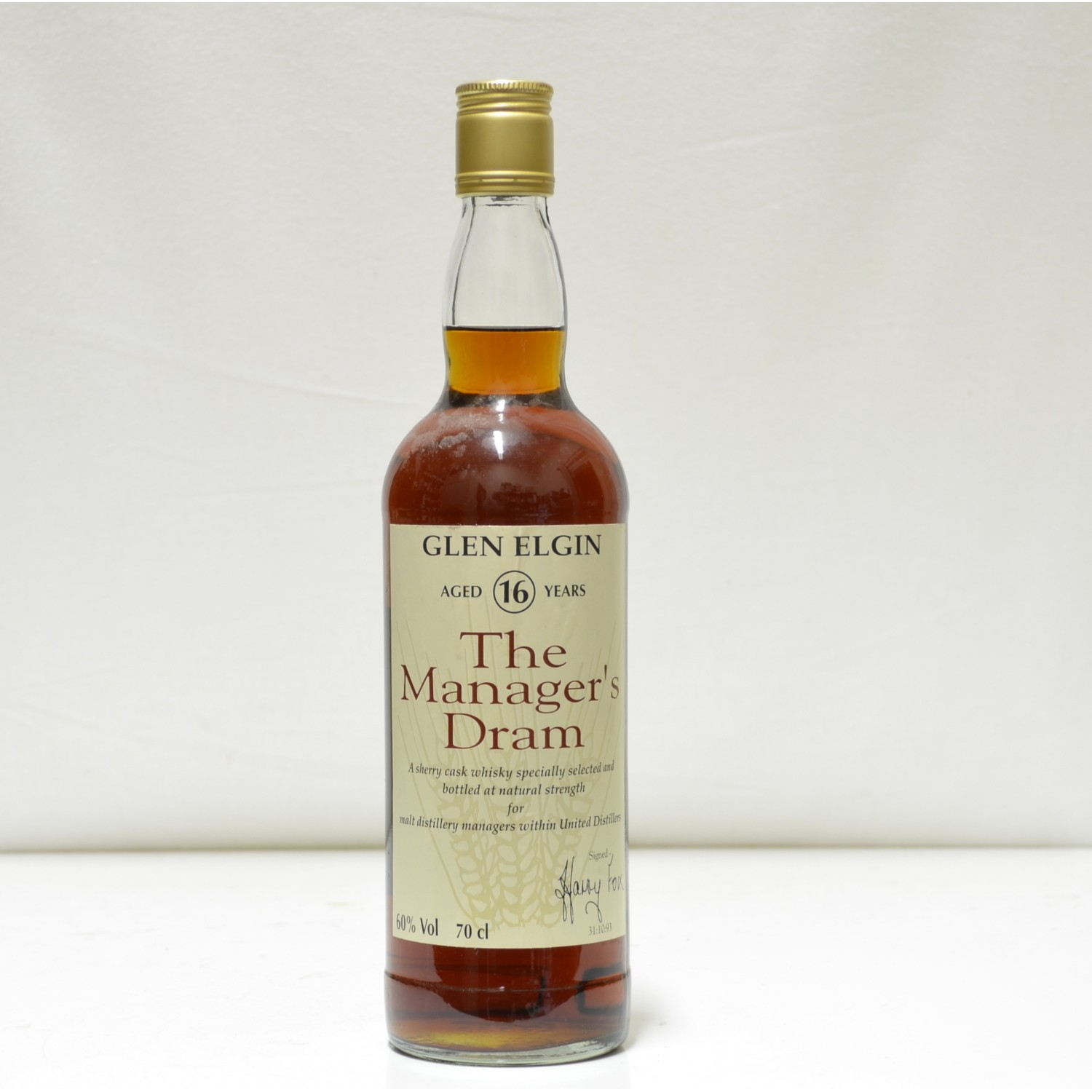 Scotch Whisky Auctions The 23rd Auction Glen Elgin 16
