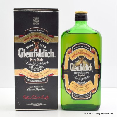 Glenfiddich Pure Malt 75cl