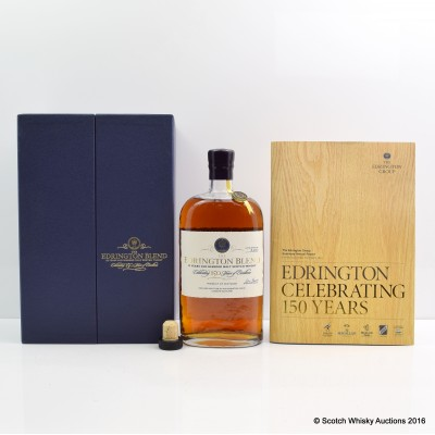 Edrington Blend 150th Anniversary 33 Year Old With Booklet