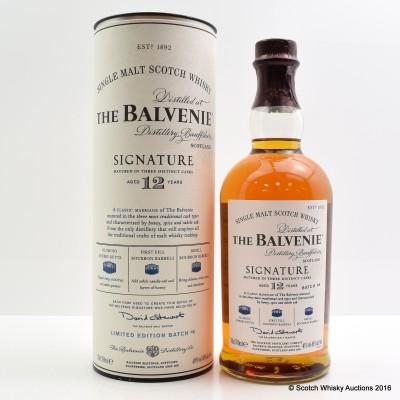 Balvenie Signature 12 Year Old Batch #4
