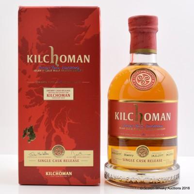 Kilchoman 2007 Distillery Shop Exclusive Single Cask #3009/2007