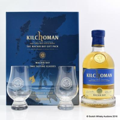Kilchoman Machir Bay 2013 Release & Two Tasting Glasses Set