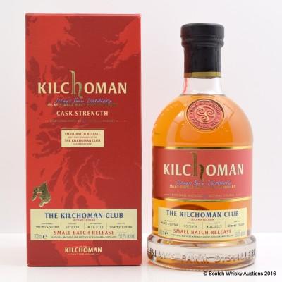 Kilchoman 2008 Kilchoman Club Small Batch Release 2nd Edition