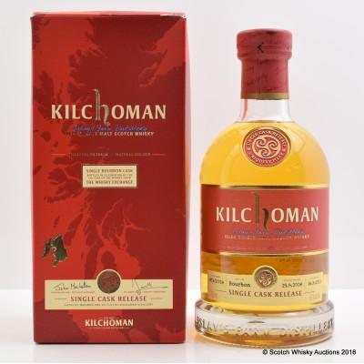 Kilchoman 2008 5th Year of Whisky Show Whisky Exchange Single Bourbon Cask #473/2008