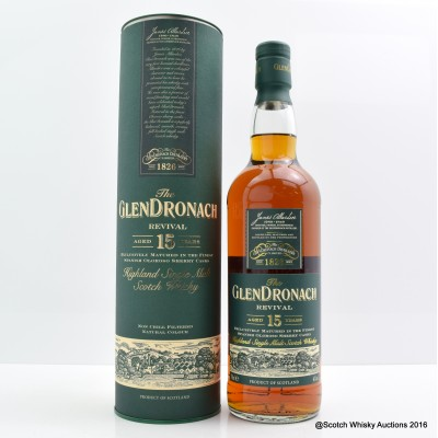 GlenDronach Revival 15 Year Old