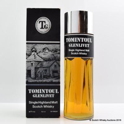 Tomintoul-Glenlivet Perfume Bottle 75.7cl