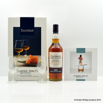 Talisker Port Ruighe Classic Malts & Food Set