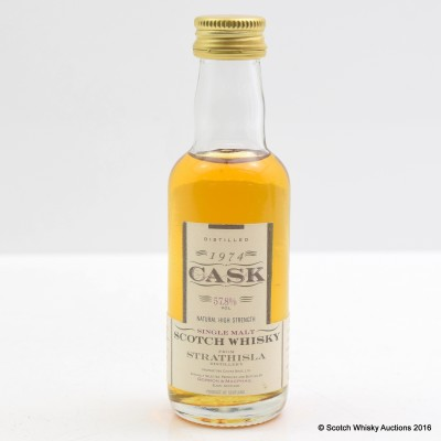 Strathisla 1974 Gordon & MacPhail Cask Strength Mini 5cl