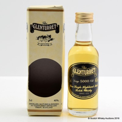 Glenturret 5000 Days Old Mini 5cl
