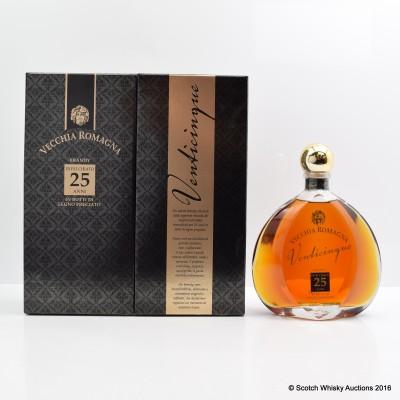 Vecchia Romagna 25 Year Old Brandy