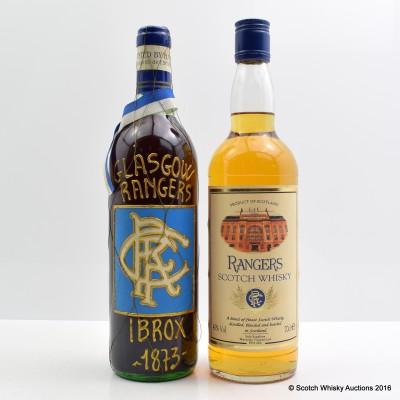 Vino De Mesa Rangers 75cl & Scotch Whisky Rangers