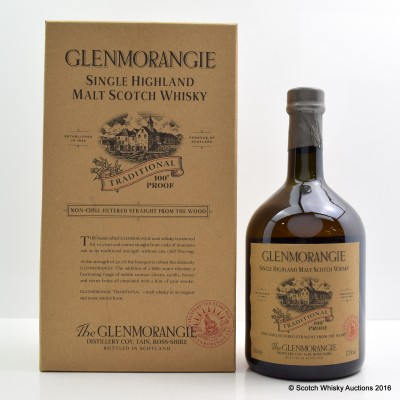 Glenmorangie Traditional 100° Proof 1L
