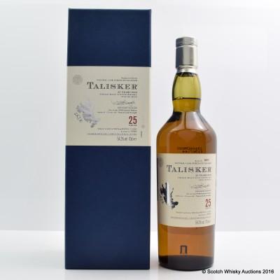 Talisker 25 Year Old 2008 Release