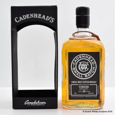 Tormore 1984 30 Year Old Cadenhead's