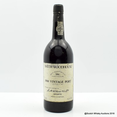 Smith Woodhouse 1980 Vintage Port 75cl
