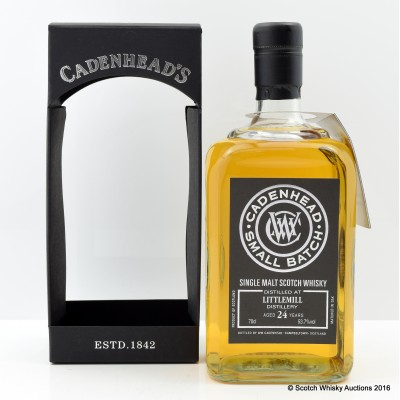 Littlemill 1990 24 Year Old Cadenhead's