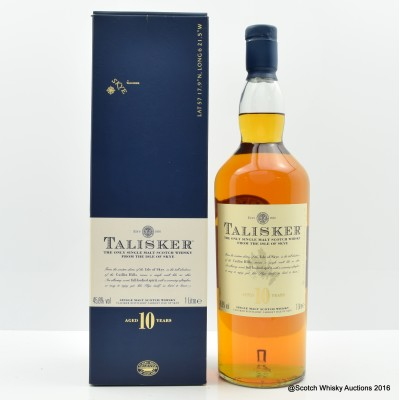 Talisker 10 Year Old 1L