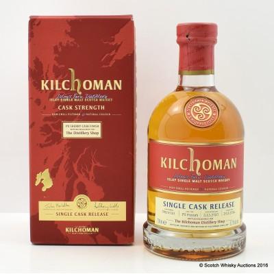 Kilchoman 2010 Single Cask Distillery Shop Exclusive