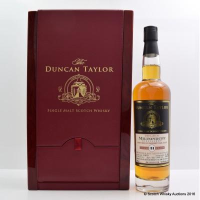 Miltonduff 1982 31 Year Old Duncan Taylor