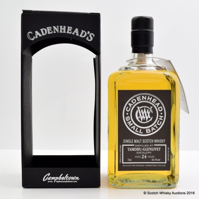 Tamdhu-Glenlivet 1991 24 Year Old Cadenhead's