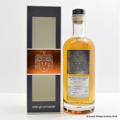 Tomintoul 2006 10 Year Old Creative Whisky Co