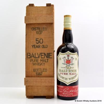 Balvenie 1937 50 Year Old 75cl