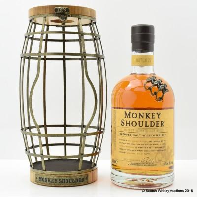 Monkey Shoulder in Barrel Cage