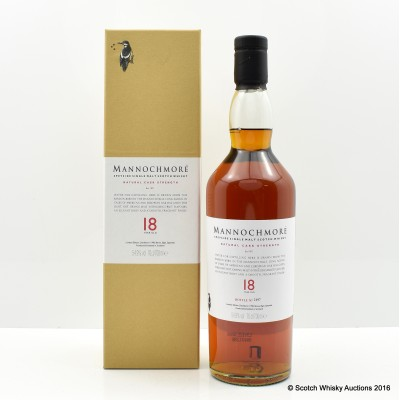 Mannochmore 18 Year Old Special Edition