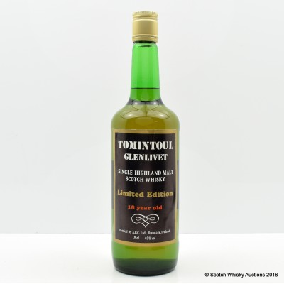 Tomintoul-Glenlivet 1967 18 Year Old 75cl