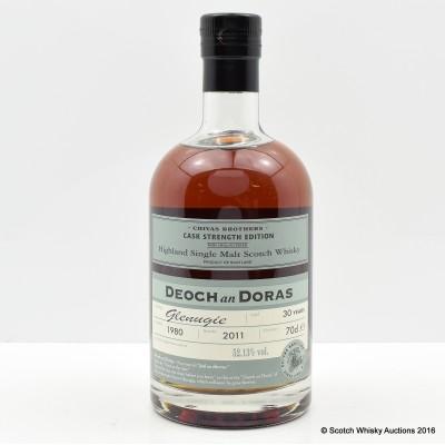 Glenugie 1980 30 Year Old Deoch An Doras