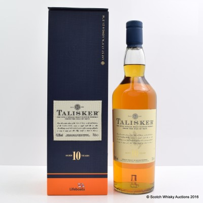 Talisker 10 Year Old Lifeboats
