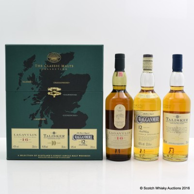 The Classic Malts Collection 3 x 20cl