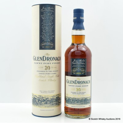 Glendronach 20 Year Old Tawny Port Finish