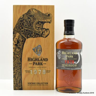 Highland Park 1978 Vintage Collection