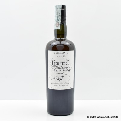 Tomintoul 1967 44 Year Old Samaroli