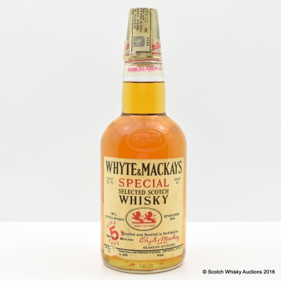 Whyte & MacKay 5 Year Old 75cl
