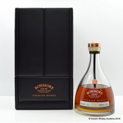 Bowmore 1965 42 Year Old Premier Range