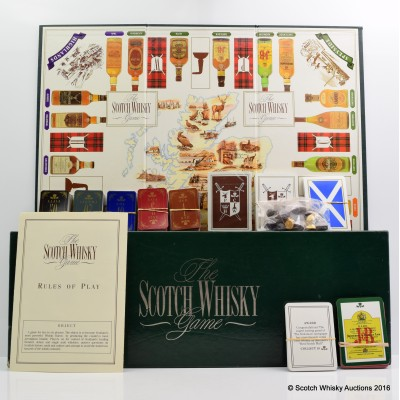 Scotch Whisky Board Game
