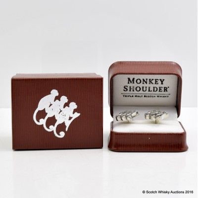 Monkey Shoulder Cufflinks
