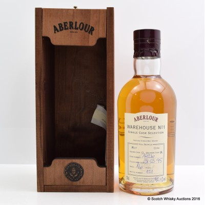 Aberlour Distillery Only Hand Filled Bourbon Cask 16 Year Old